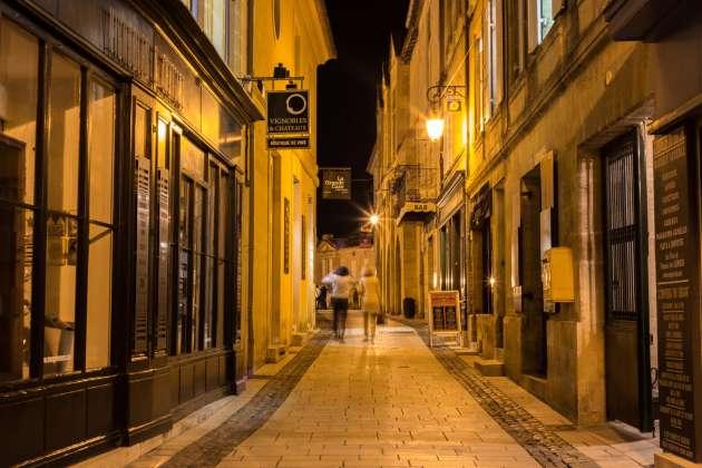 A Saint-Emilion.