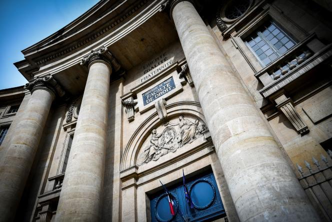 L'université Paris-I-Panthéon-Sorbonne.
