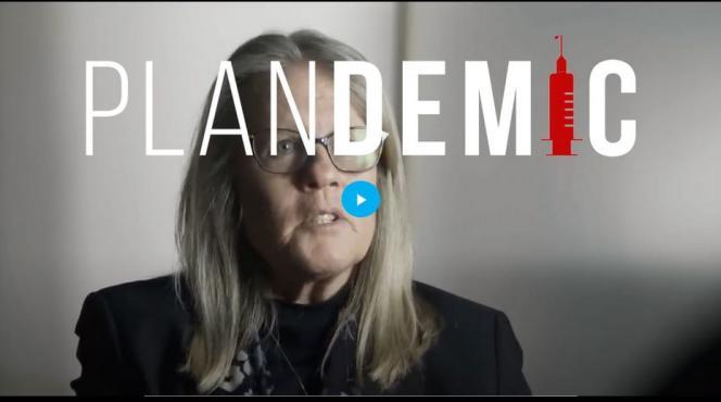 Judy Mikovits, figure du mouvement antivaccination, interviewée dans « Plandemic ».