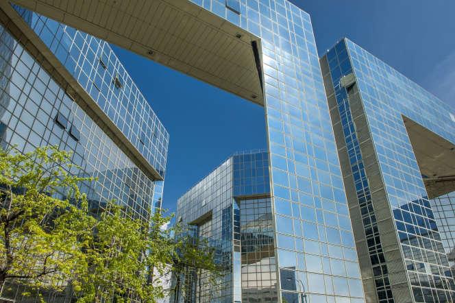 L'immeuble le Ponant, à Paris.
