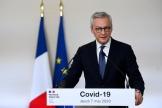 Le ministre de l'économie, Bruno Le Maire, à Matignon le 7 mai.