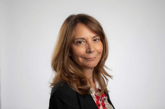 Roula Khalaf, rédactrice en chef du«Financial Times», en septembre 2019, à Londres.