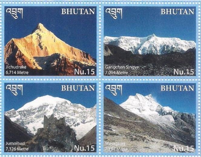 Le charme des sommets hymalayens du Bhoutan (2017).