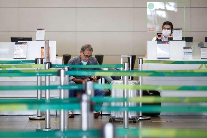 L'aéroport international de Brasilia, dimanche 24 mai.