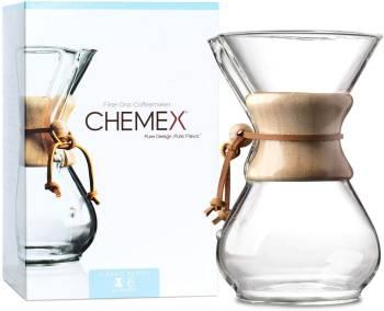 Un grand classique Le Classic Series Six tasses de Chemex