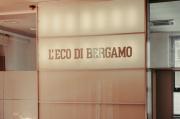 L'accueil du quotidien italien « L'Eco di Bergamo», à Bergame, le 5 mai.