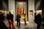 <p>L'exposition « Raphaël 1520-1483 » aux écuries du Quirinal, à Rome, devait se dérouler du 5 mars au 2 juin.</p>