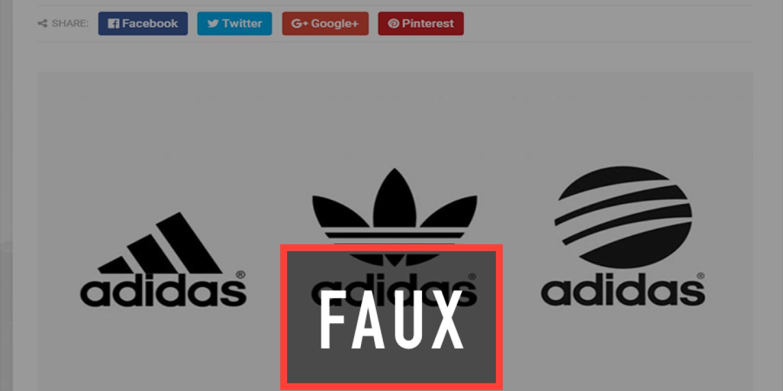 Non, Adidas n'est pas en faillite
