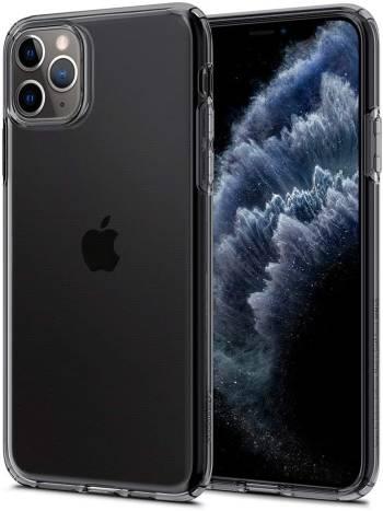 Une coque transparente pour iPhone 11 Pro Max Spigen Liquid Crystal pour iPhone 11 Pro Max