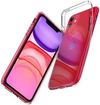 Une coque transparente pour iPhone 11 Spigen Liquid Crystal pour iPhone 11