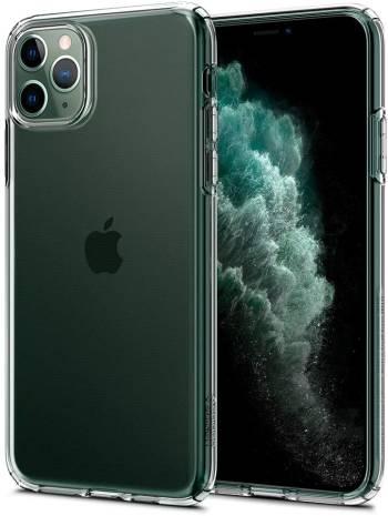 Une coque transparente pour iPhone 11 Pro Spigen Liquid Crystal pour iPhone 11 Pro