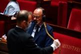 Edouard Philippe lors d'une séance de questions au gouvernement, à l'Assemblée nationale à Paris, le 26 mai.