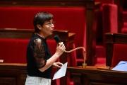 Annick Girardin s'exprime à l'Assemblée nationale àParis, le 26, mai 2020.