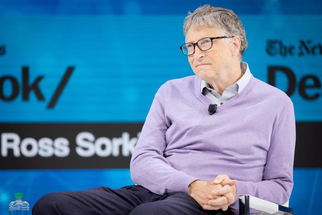 Bill Gates, cofondateur de la puissante fondation Bill et Melinda Gates, à son siège new-yorkais, le 6novembre 2019. Le milliardaire philanthrope fait l'objet de nombreuses accusations depuis le début de la pandémie.