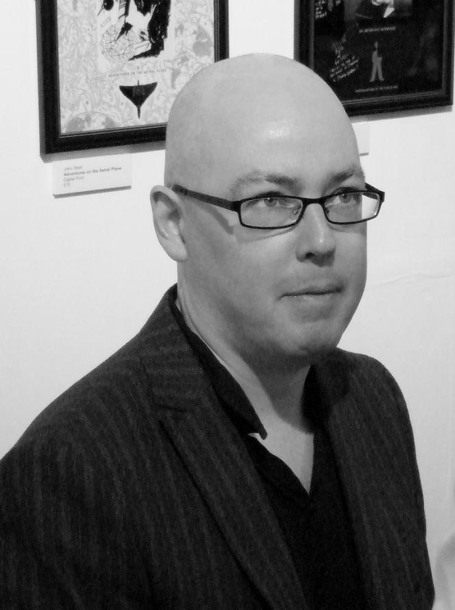 L'écrivain irlandais John Boyne au festival Humber Mouth, à Hull (Grande-Bretagne), en 2009.