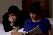 Ahmad Shinwari et Elodie Fonnard dans« Chanson triste »,de Louise Narboni.