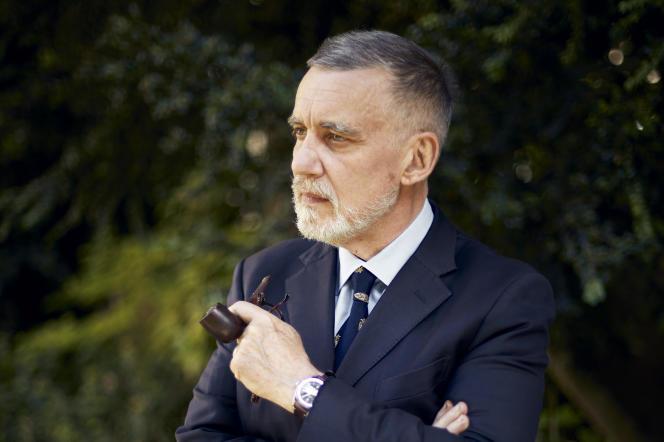 L'écrivain et avocat François Sureau, à Paris, le 25 mai.