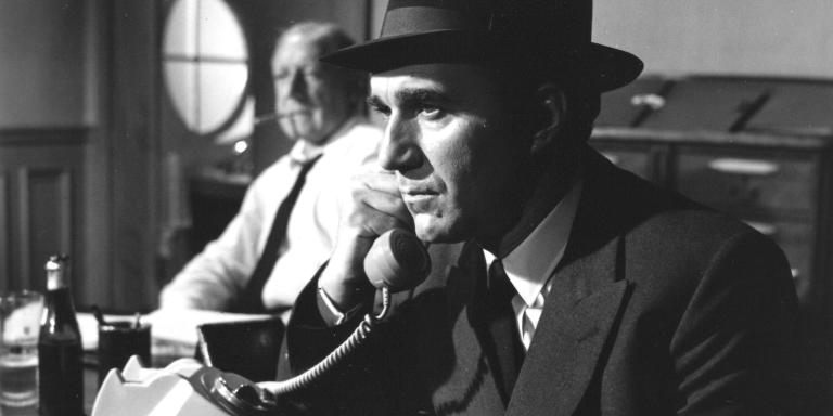 Georges WILSON (Le commissaire), Michel PICCOLI (Max) Réalisation: Claude SAUTET