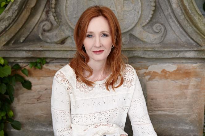 J.K.Rowling, photo non datée.