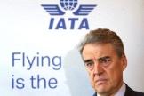 Alexandre de Juniac, directeur général de l'IATA, à Genève, le 13 mars.