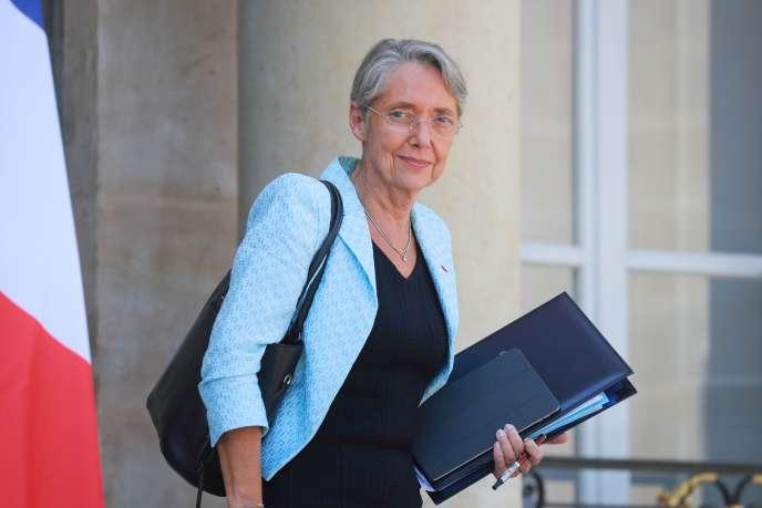 Elisabeth Borne, ministre de la transition écologique et solidaire, le 27 mai à l'Elysée.