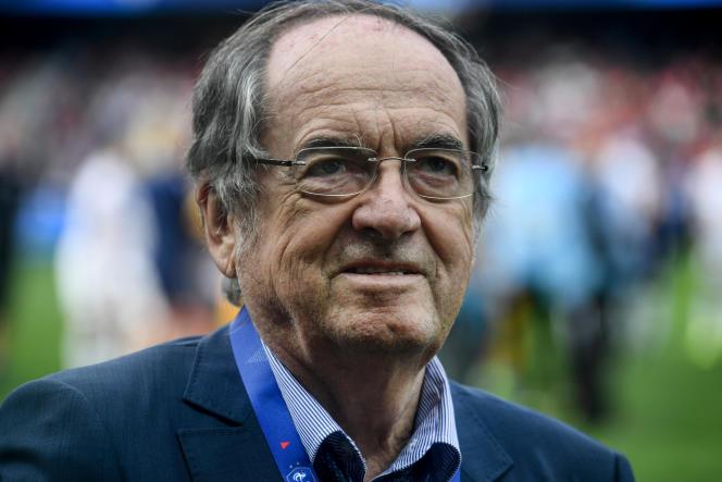 Noël Le Graët, le président de la Fédération française de football, en septembre 2019.