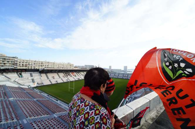 Le Stade Mayol de Toulon, le 18 avril.