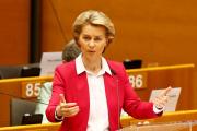 Ursula von der Leyen, la présidente de la Commission européenne, à Bruxelles, le 27 mai 2020.