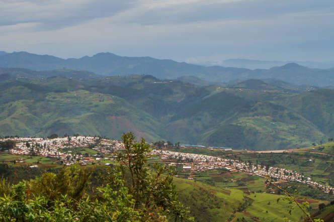 Rwanda, distric de Karongi.