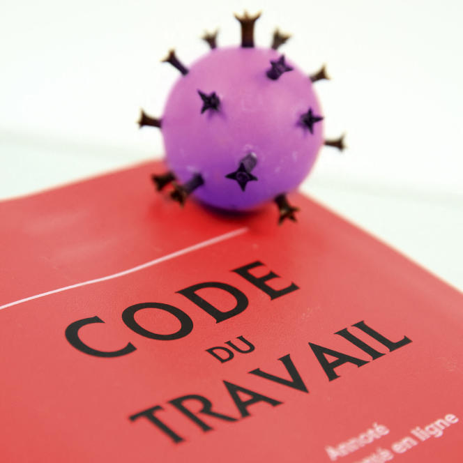 «S'agissant de la maladie virale contractée au travail, la jurisprudence a commencé par l'exclure. »