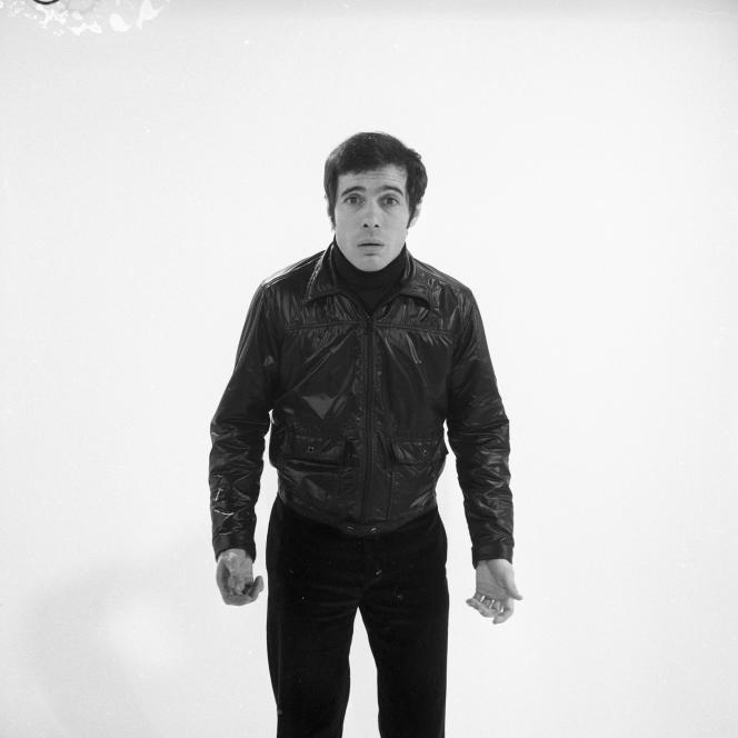 Guy Bedos, en 1969.