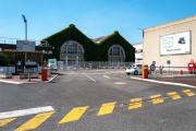 Entrée de l'usine Renault de Choisy-le-Roi (Val-de-Marne)