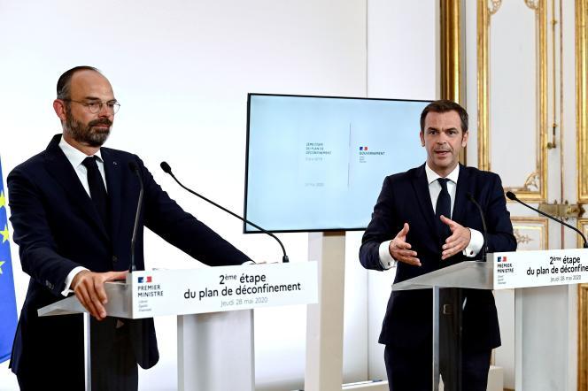 Le premier ministre, Edouard Philippe, a présenté la «phase 2» du déconfinement, jeudi 28 mai.