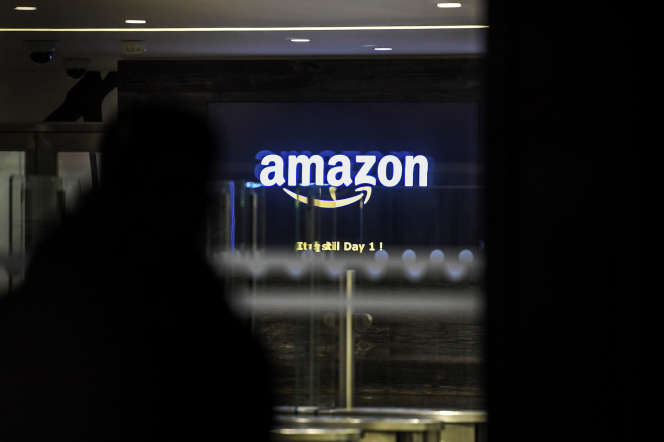 Les bureaux d'Amazon, à Clichy (Hauts-de-Seine), en novembre 2019.