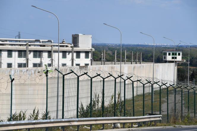 La prison de Villeneuve-les-Maguelones, à Montpellier, en mars 2020.