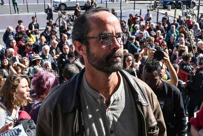 Cédric Herrou, le 11 mars 2020, à Lyon.