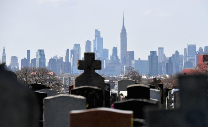 Les gratte-ciels de Manhattan, à New York, le 27 mai.