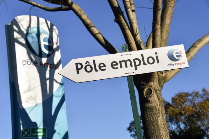 Une agence de Pôle emploi à Montpellier, le 3 janvier 2019.