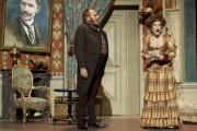 «Le Systeme Ribadier» de Georges Feydeau. Mise en scene de Zabou Breitman, au Theatre du Vieux-Colombier, en novembre 2013.
