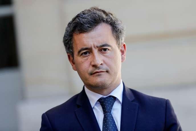 Gérald Darmanin, le ministre de l'action et des comptes publics, à Matignon à Paris, le 29 mai.