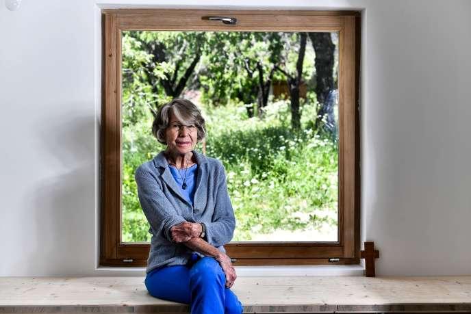La théologienne Anne Soupa, à Vallouise (Hautes-Alpes), le 29 mai.