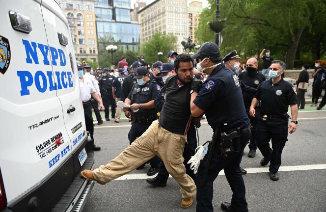 Manifestation à New York, le 28 mai.