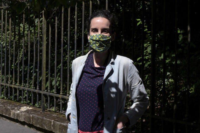 Anaïs Enet Andrade, à Paris, le 27 mai.