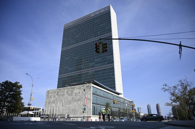 Le bâtiment des Nations unies, à New York, le 22 septembre 2019.