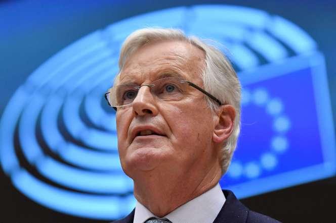 Michel Barnier, le négociateur en chef de l'UE, à Bruxelles, le 2 juin.