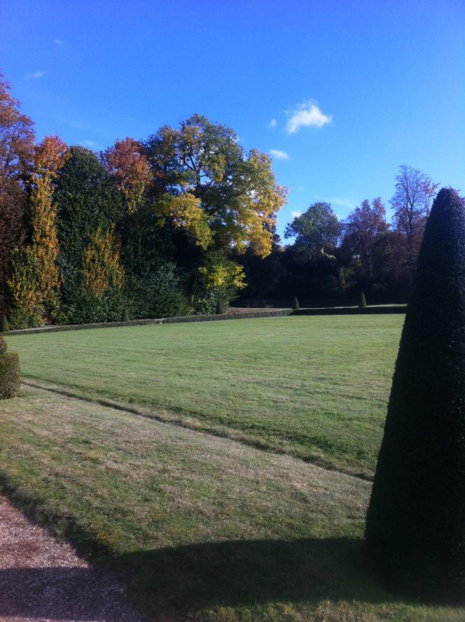 Vue du parc du château de Champs-sur-Marne (octobre 2016).