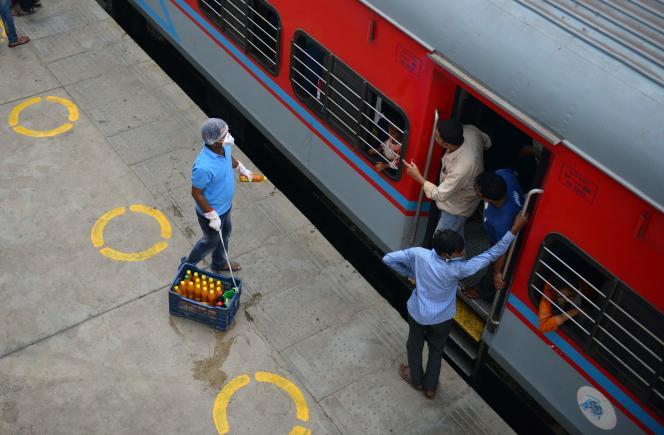A la gare dePrayagraj (Inde), le 30 mai.
