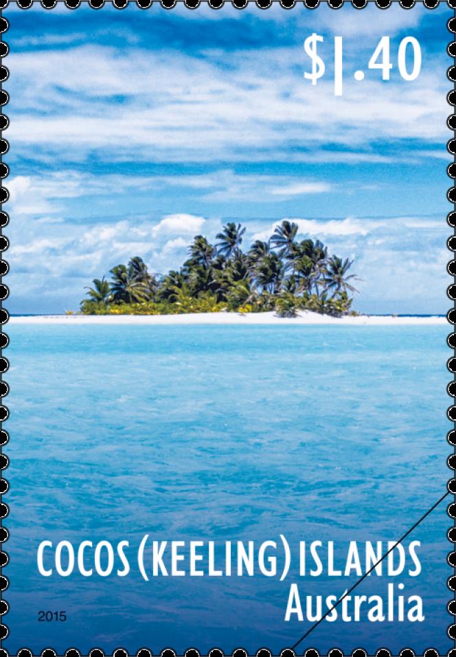 Timbres des îles Cocos de 2015.