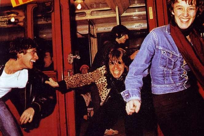 Pochette de l'album« Téléphone» en 1977, du groupe Téléphone.
