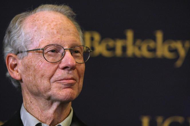 Oliver Williamson, à l'université de Berkeley (Californie), en octobre 2012.